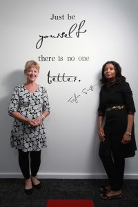 Headspace Armadale centre manager Annette Chivers and clinical lead Pearl Proud. Photograph - Matt Devlin.