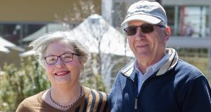 Gosnells residents John and Lynne Oberthrow would still vote Liberal despite the leadership change. Photograph — Matt Devlin.