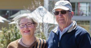 Gosnells residents John and Lynne Oberthrow would still vote Liberal despite the leadership change. Photograph — Matt Devlin.