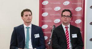 By-election candidates Andrew Hastie and Matt Keogh. Photograph - Matt Devlin.