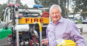 Shire of Serpentine Jarrahdale president Keith Ellis said the shire relied heavily on its band of bushfire brigade volunteers. Photograph — Matt Devlin.