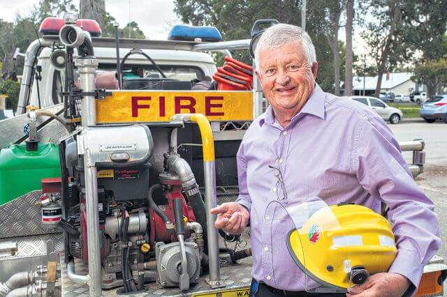 Shire of Serpentine Jarrahdale president Keith Ellis said the shire relied heavily on its band of bushfire brigade volunteers. Photograph — Matt Devlin.