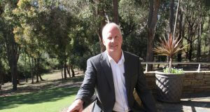 Business Armadale president Paul Harrison. Photograph - Robyn Molloy.