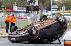 Crashes on Denny Avenue are common. Photograph - Matt Devlin.