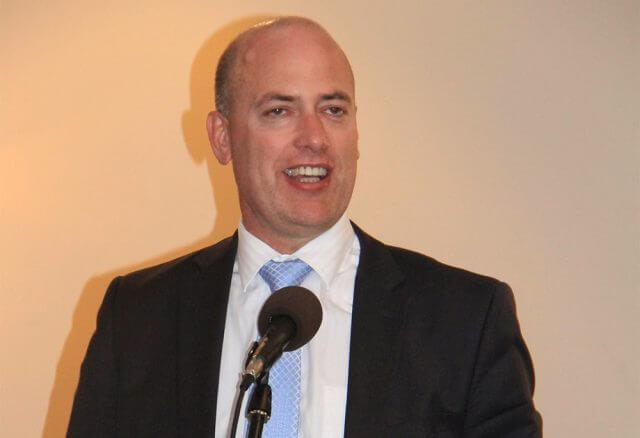 Transport Minister Dean Nalder. Photograph - Robyn Molloy.