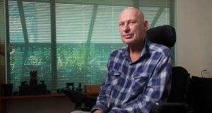 Armadale resident Grant was forced to make the dangerous move to leave his respite care early after he came up dry in a search for financial assistance. Photograph — Matt Devlin.
