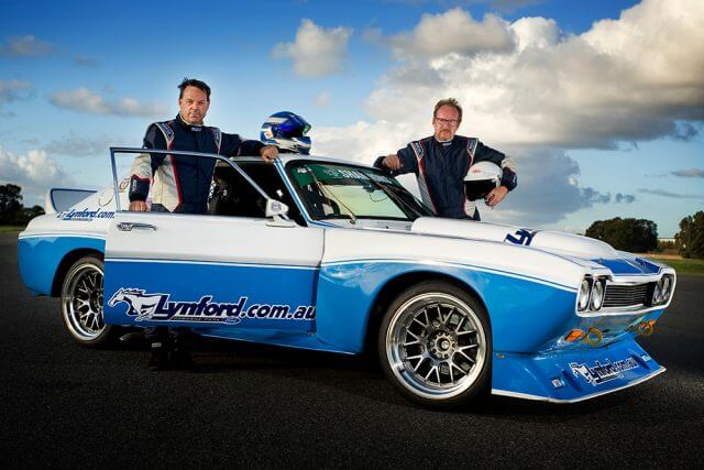 Simon Gunson and his former co-driver took home the top spot in the classic section of Quit Targa West in 2014 with his Lynford Ford Capri.