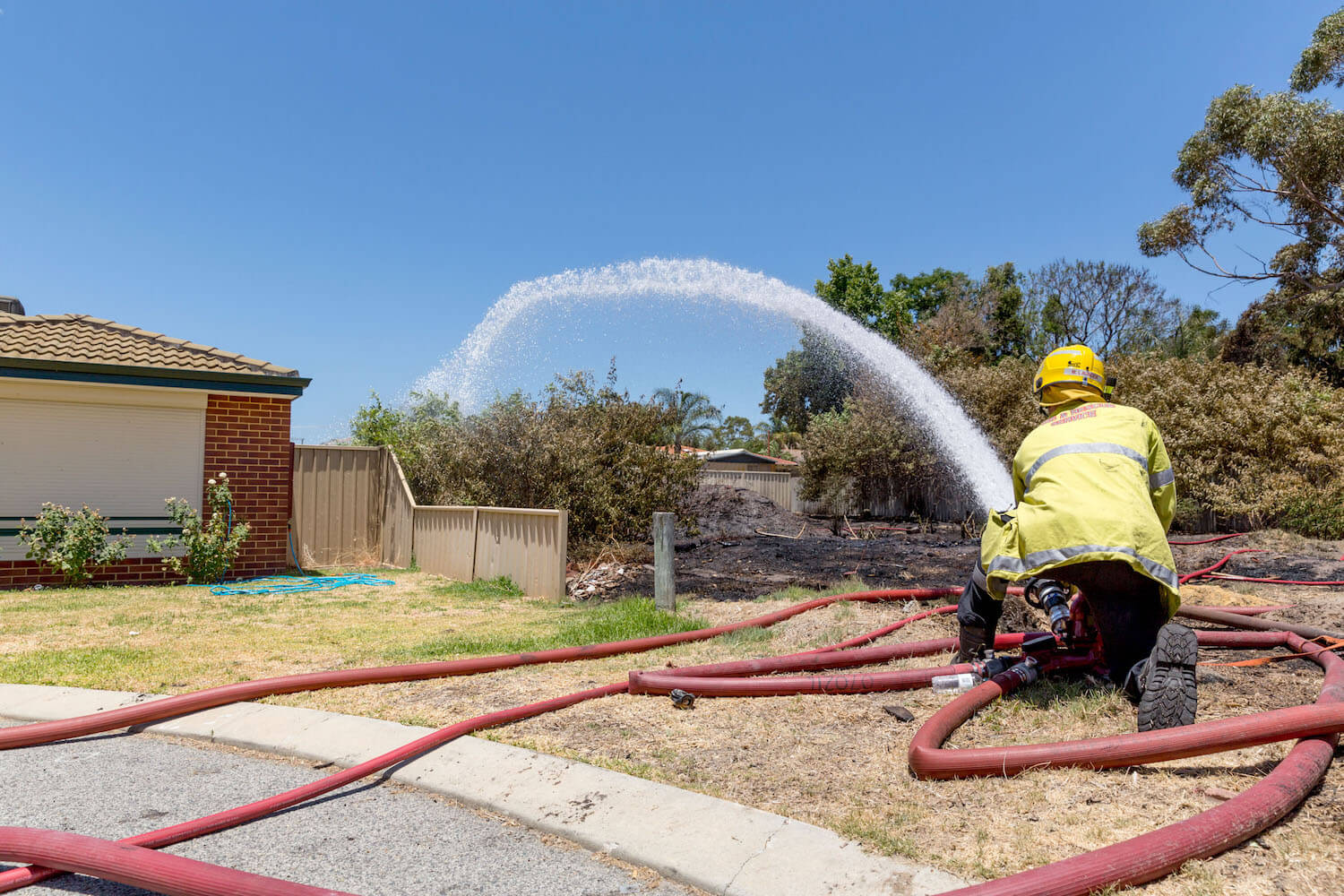 bush fire safety plan