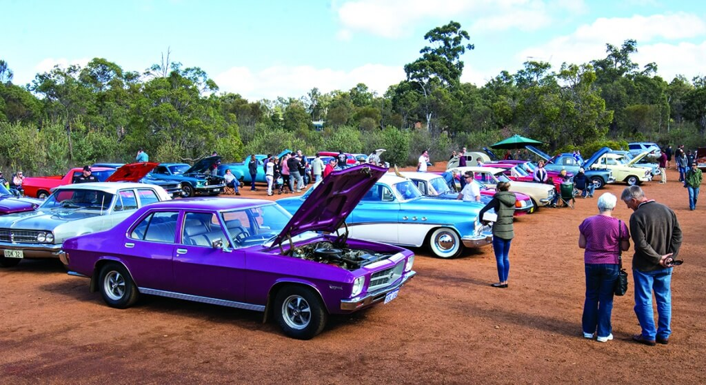 Organisers said the car show attracted over 2000 people. Photograph – Aaron Van Rongen.