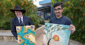 Talented students, GOS Art competition